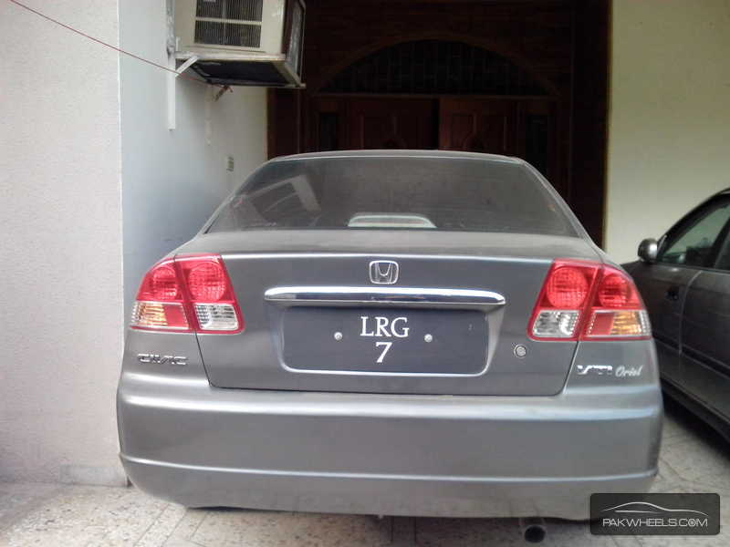 Honda civic vti oriel 1 6 2002 for sale in islamabad for 2002 honda civic power window not working