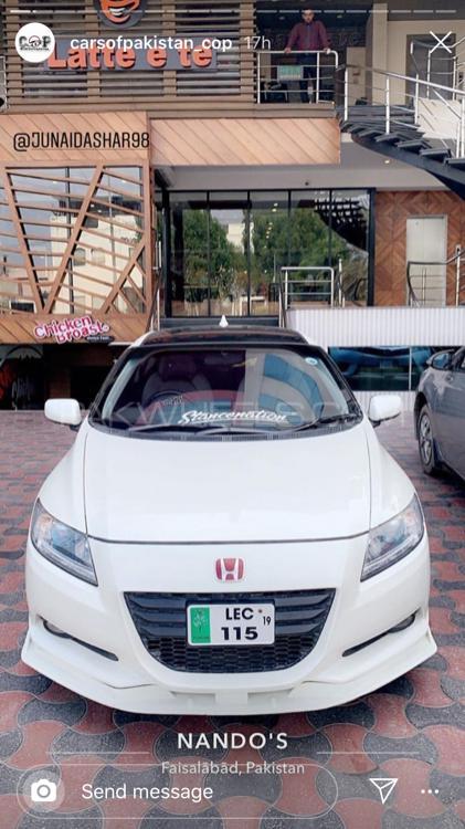 Honda CR-Z Sports Hybrid - 2010  Image-1
