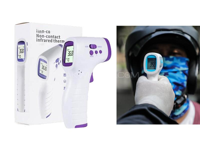 Non Contact Forehead Temperature Sensor Infrared Thermometer  Image-1