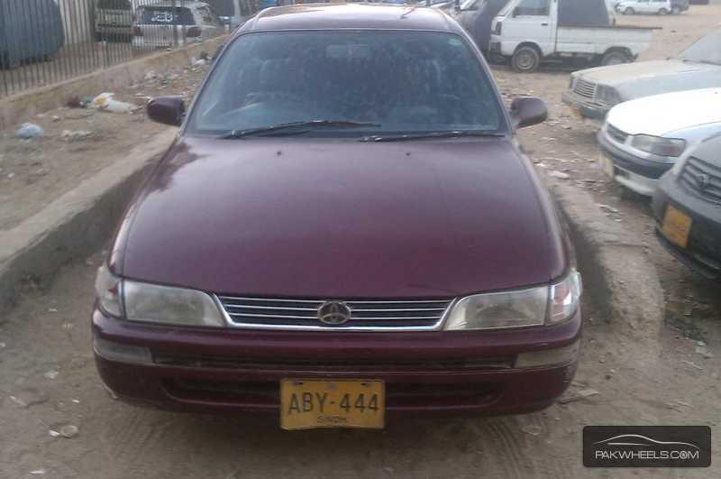 Corolla Xli For Sale In Karachi Pakwheels Autos Weblog