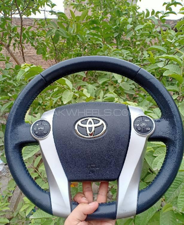 Aqua multimedia leather full steering Image-1