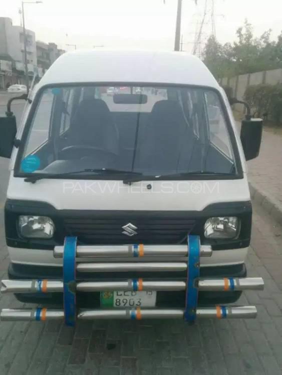 Suzuki Bolan Cargo Van Euro ll 2015 Image-1
