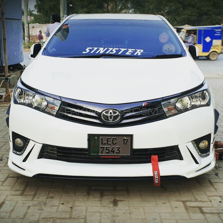 Toyota Corolla - 2017 subhan tahir Ghuman Image-1