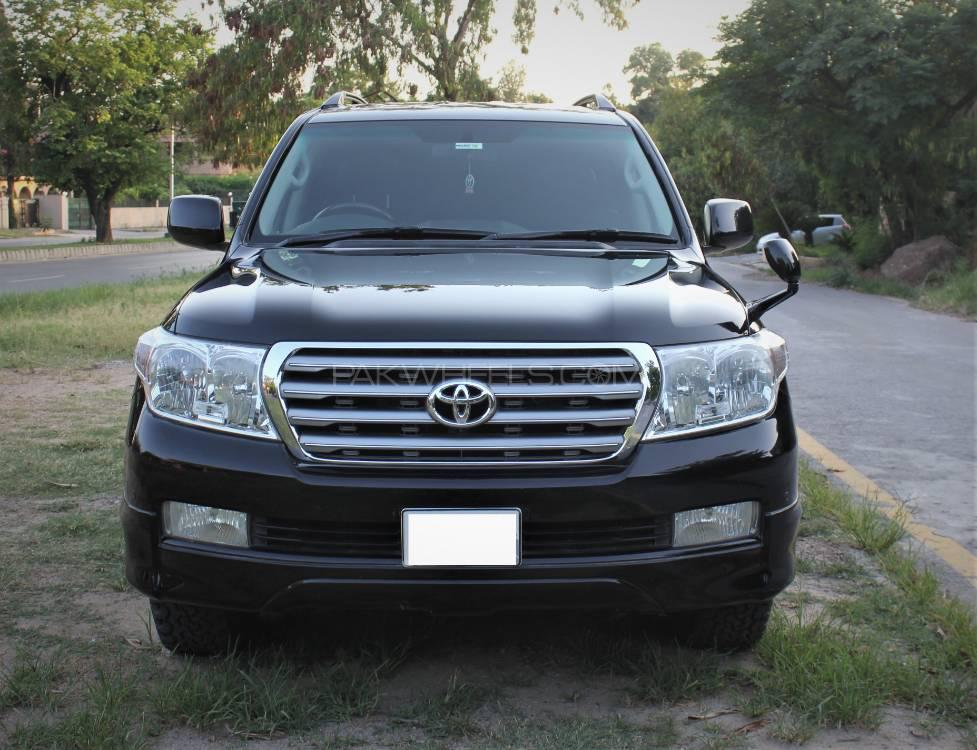 Toyota Land Cruiser AX G 60th Black Leather Selection 2011 Image-1
