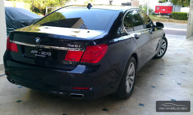 BMW Series I For Sale In Islamabad PakWheels - Bmw 2009 7 series for sale