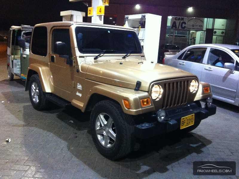 jeep wrangler 1999 for sale in karachi pakwheels. Black Bedroom Furniture Sets. Home Design Ideas