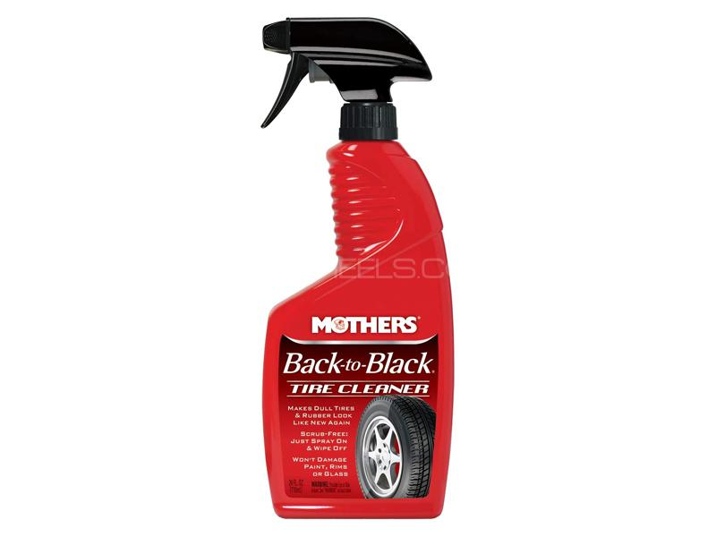Mothers Back to Black Tire Renew Cleaner 24 oz Image-1