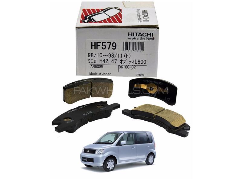 Hitachi Front Brake Pad For Mitsubishi Ek Wagon 2000 2006 - HF579 Image-1