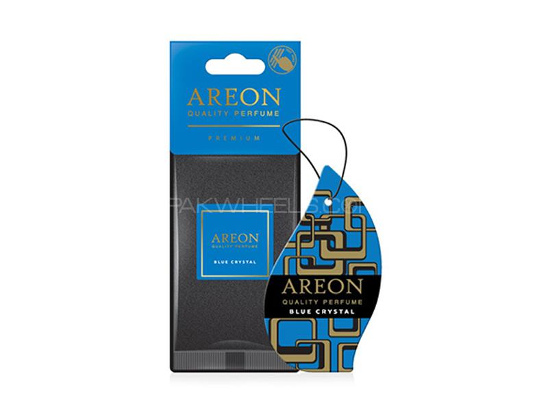 Areon Premium Air Freshener Card Blue Crystal in Lahore