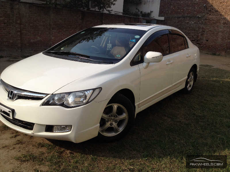 used honda civic vti 1 8 i vtec oriel 2009 car for sale in gujranwala 811065 pakwheels. Black Bedroom Furniture Sets. Home Design Ideas