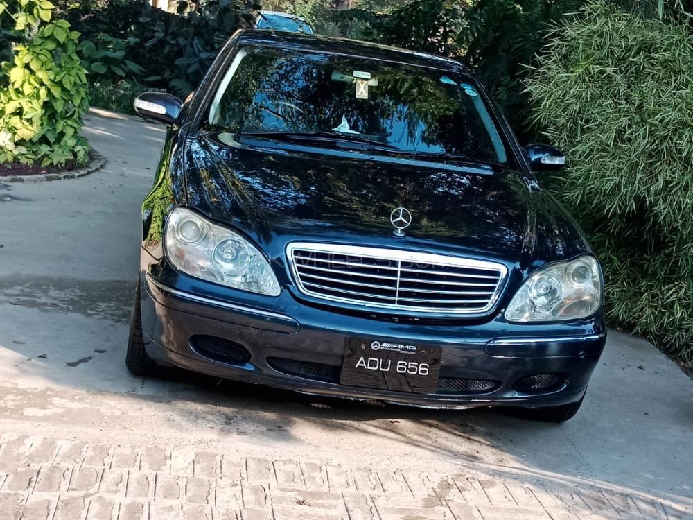 Mercedes Benz S Class 2000 Image-1