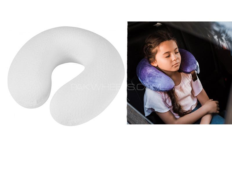 Travelling Soft Neck Cushion Off White Image-1