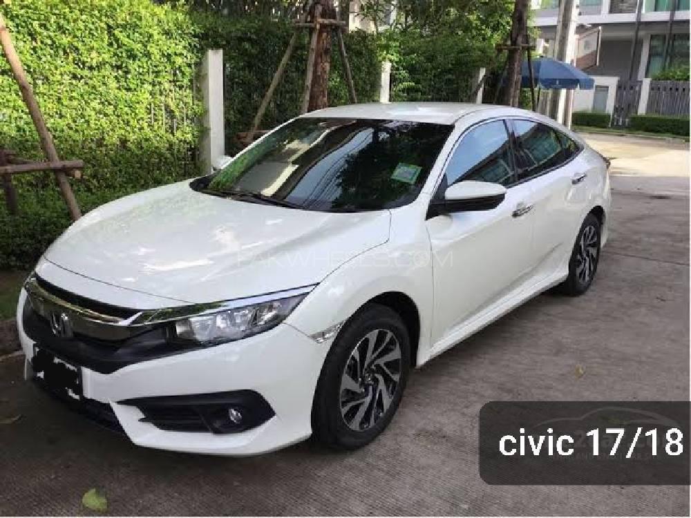 Honda Civic 1.8 i-VTEC CVT 2017 Image-1