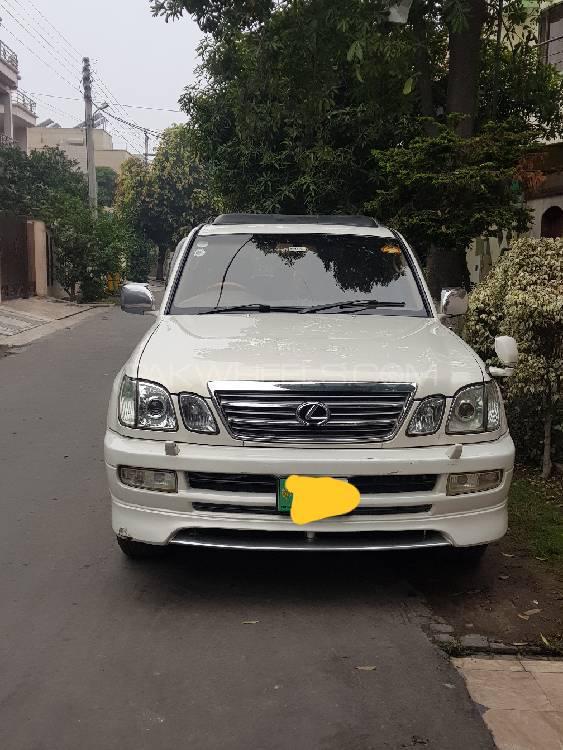 Toyota Land Cruiser 2001 Image-1
