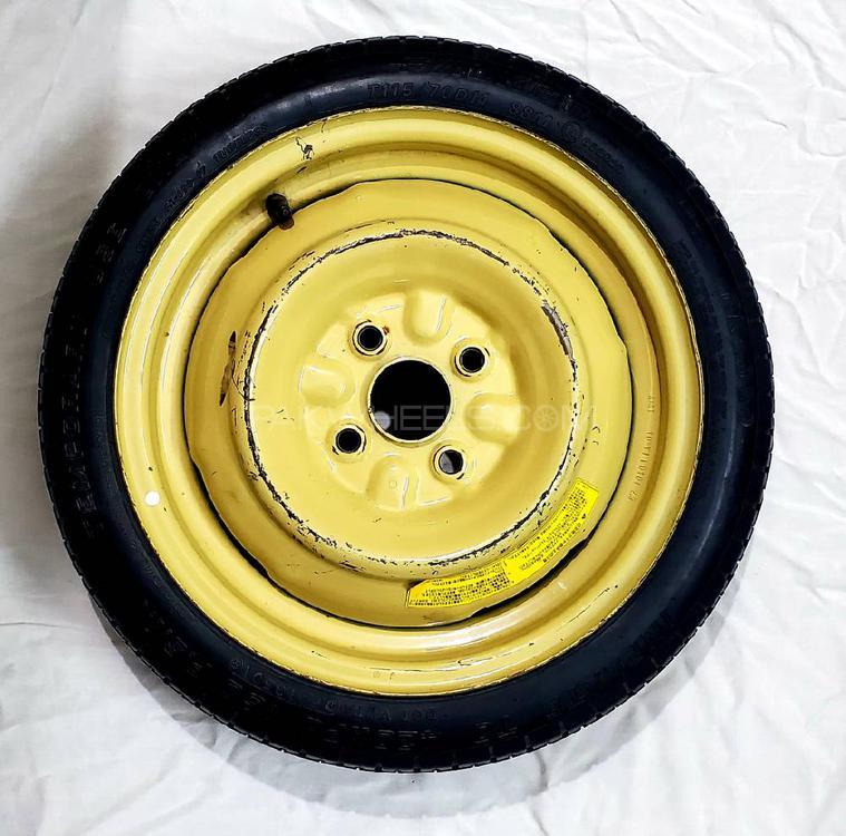 Un  Japanese Spare Wheel Image-1
