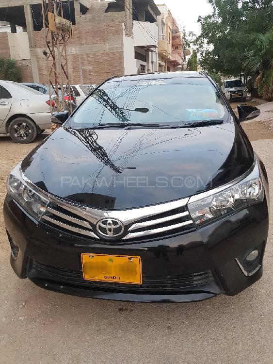 Toyota Corolla GLi Automatic 1.3 VVTi 2014 Image-1
