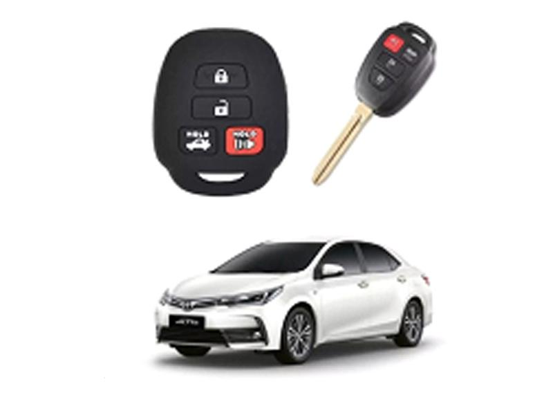 Key Cover For Toyota Corolla GLi 2015-2020 Image-1