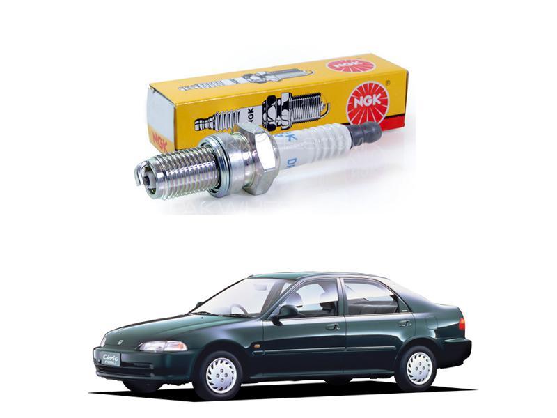 Honda Civic 1992-1995 Ngk Spark Plugs Bkr6ey-11 Image-1