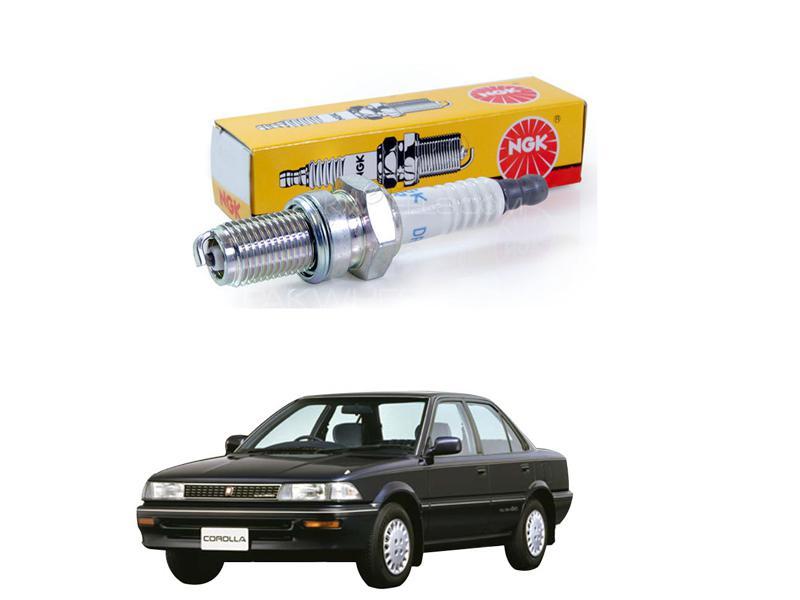 Toyota Corolla 1987-1991 Ngk Spark Plugs Bkr6ey-11 Image-1