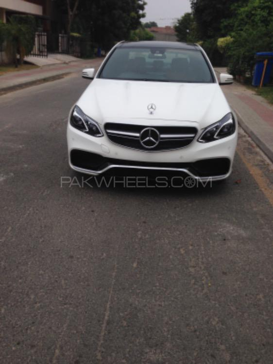 Mercedes Benz E Class - 2016  Image-1