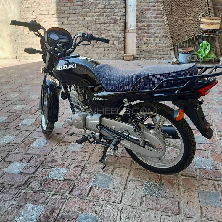 Suzuki GD 110S - 2019 one ten Image-1