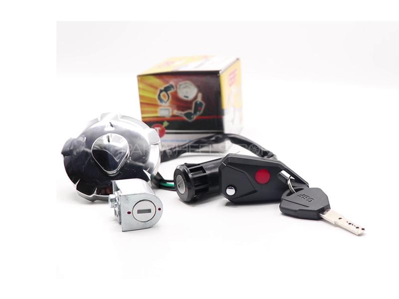 Cg 125 Complete Lock Kit  Image-1