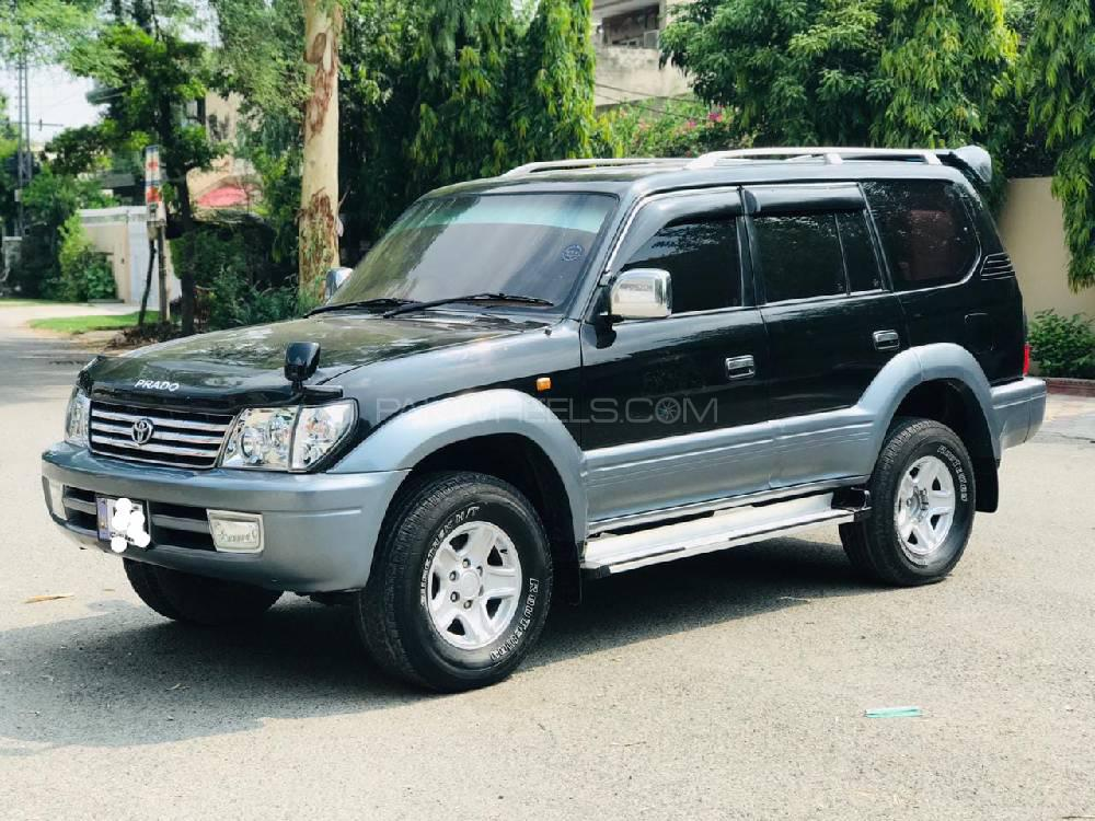Toyota Prado TX 3.0D 2002 Image-1