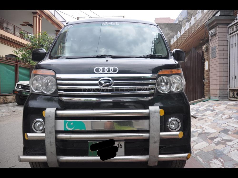 Daihatsu Atrai Wagon CUSTOM TURBO R BLACK EDITION 2013 Image-1