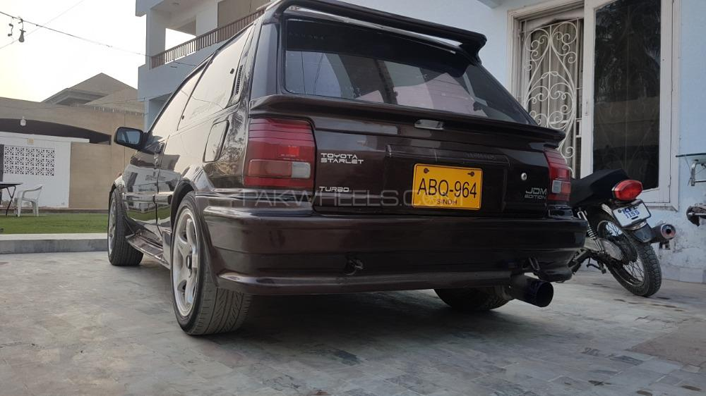 Toyota Starlet - 1990  Image-1