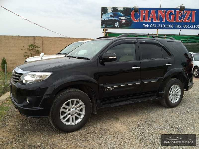 Toyota Fortuner 2 7 Vvti 2013 For Sale In Islamabad