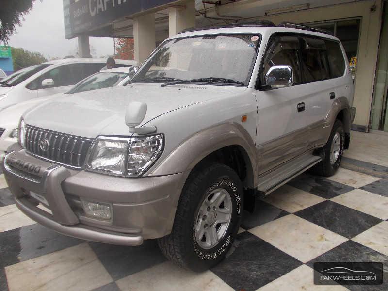 Toyota Prado Tz 4 0 1998 For Sale In Islamabad Pakwheels