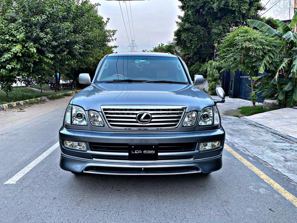 Toyota Land Cruiser Cygnus  Model Year 2003 Import And Registration 2007 Total Genuine Paint Low Mileage Mark Levinson Leather Electric Memory Seats Telescopic Steering DVD Changer Immaculate condition