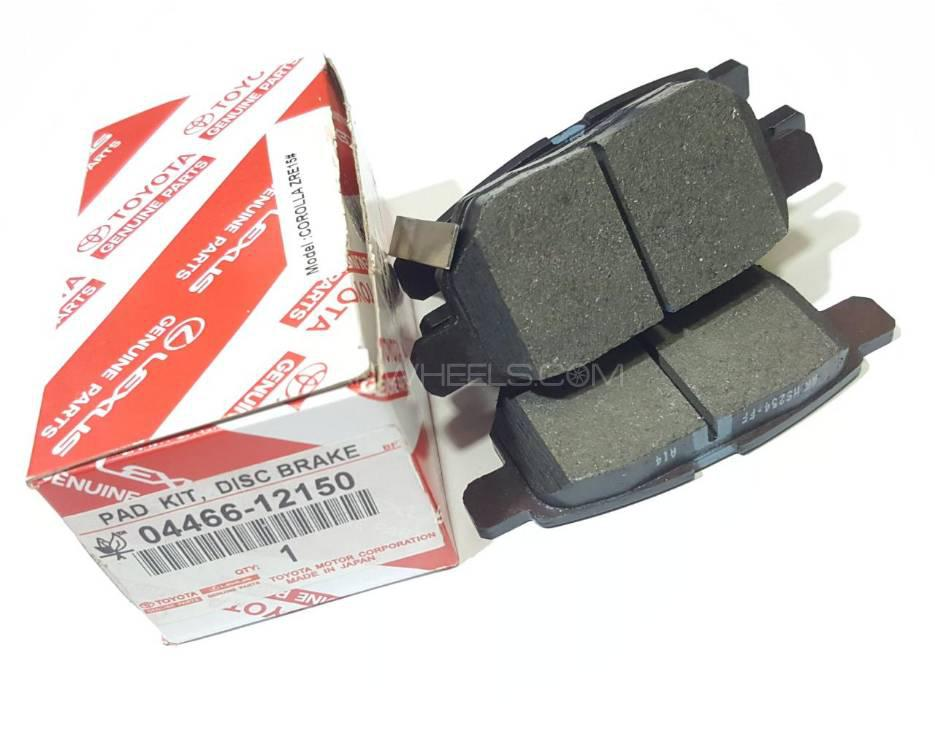 Corolla Rear Disc Pads 2010 model Onward Image-1