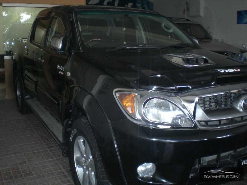 Toyota Hilux Vigo Champ G 2007 Image-4