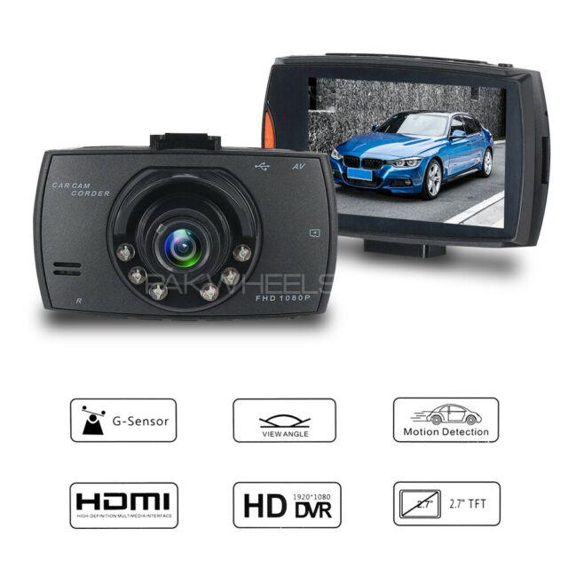 WATCH YOUR CAR DVR CAMERA FHD FRONT DISPLAY AUTO START DASH CAM Image-1