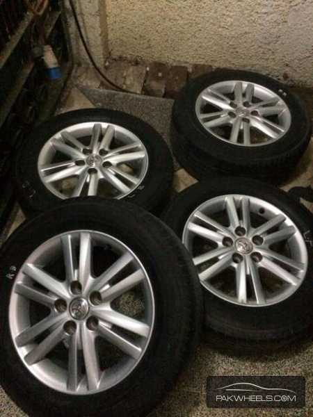 Mark X rims and tyres  Image-1