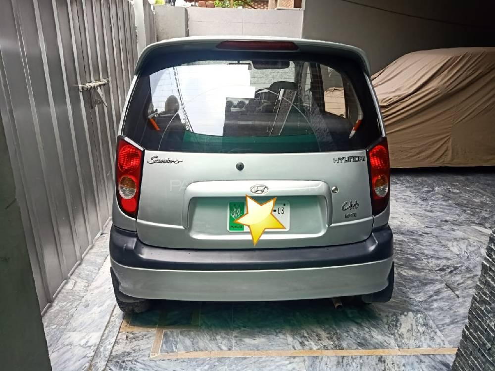 Hyundai Santro Club GV 2003 Image-1