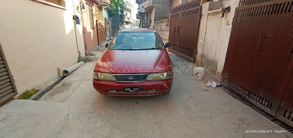 Nissan Sunny EX Saloon 1.3 (CNG) 1998 Image-1