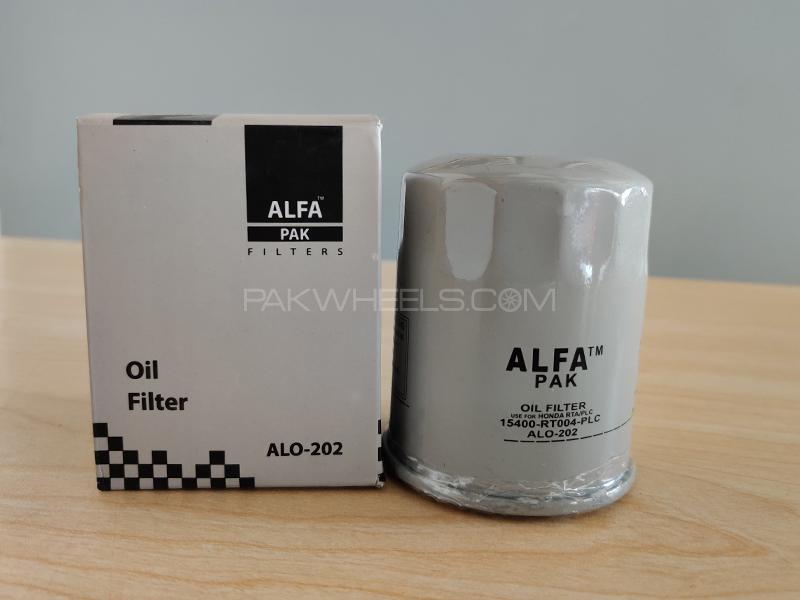 Honda Accord 2002-2006 CL9 Alfa Oil Filter Image-1