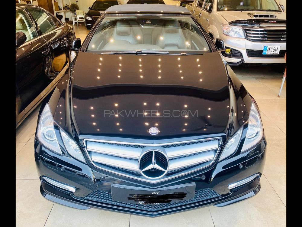 Mercedes Benz E Class Cabriolet E 200 2013 Image-1