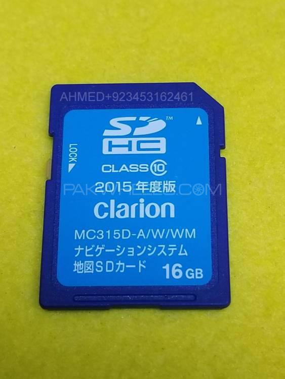 NISSAN MC315DW  MC315D 2015 ORIGNAL MAP SD CARD NavigationDisk Image-1