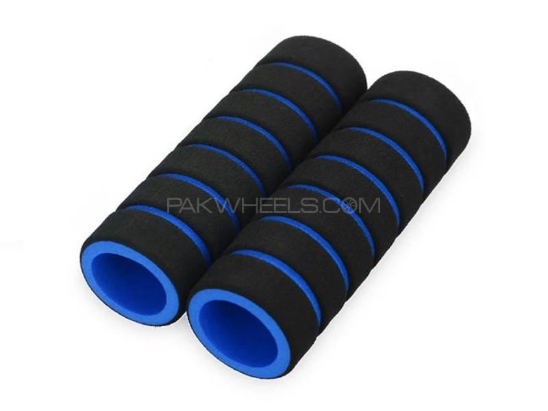 Universal Foam Cover For Handle Grip - Blue Image-1
