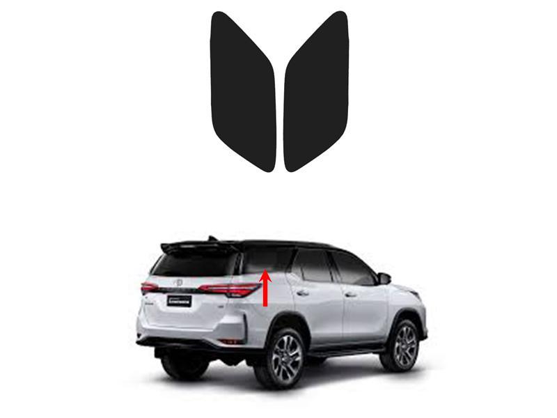 Side Quarter Window Shade For Toyota Fortuner 2016-2020 Image-1