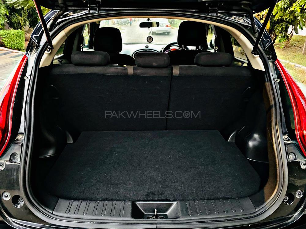 Nissan Juke  Model 2010 Import 2015 Islamabad Registration  Bumper to bumper Original  Colour Black Black and Silver sports interior Glass Coating Sport Original Back Spolier Full option  Fuel average in city 12-14 km/l Highway average 16-20 km/l Contact 03000300001 , 03177707777 M Hammad Mansoor