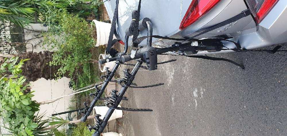 Bicycle Cycle Car Carrier Rack Stand Image-1