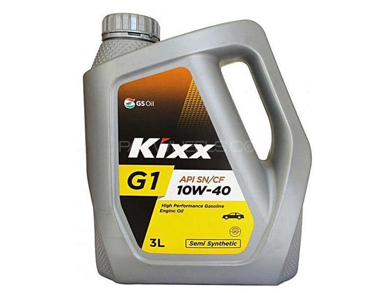 Kixx 10W-40 Engine Oil - 3L Image-1