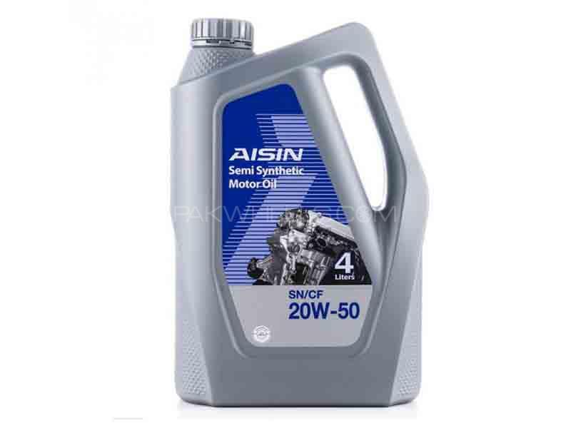 Aisin Engine Oil 20W-50 - 4L Image-1