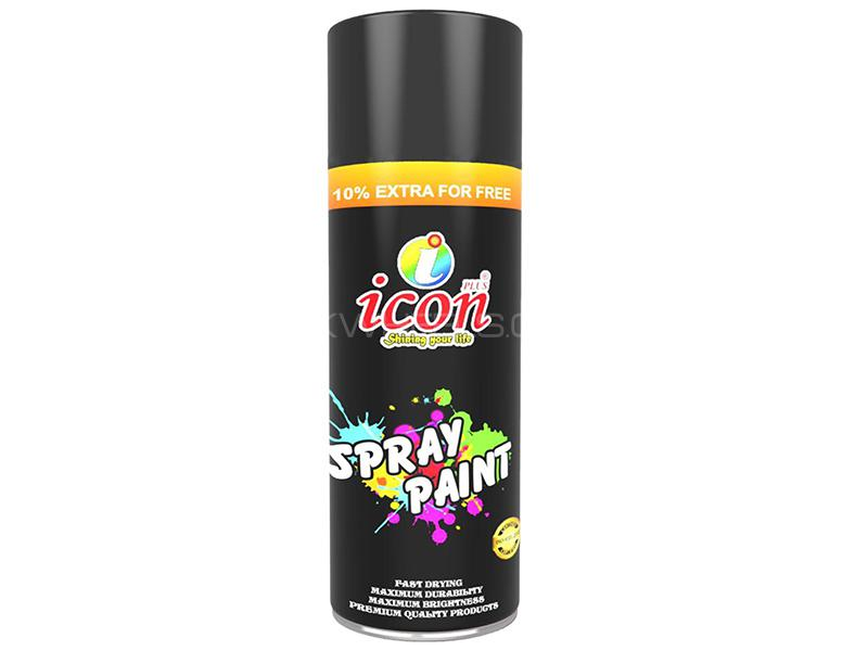 Icon Spray Paint - Black  in Karachi