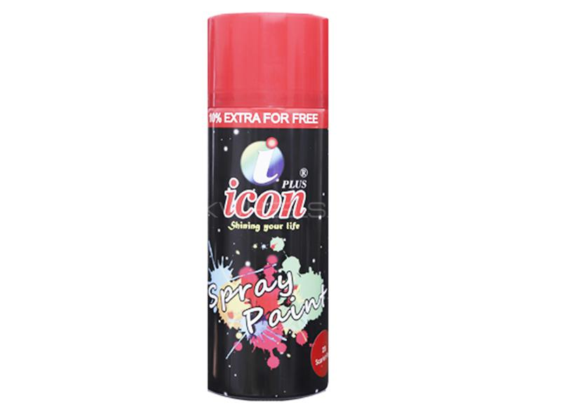 Icon Spray Paint - Red in Karachi