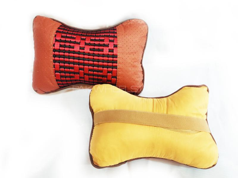 Seat Neck Rest Fabric Cushion Two Ton D8 in Lahore